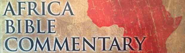 Prise en main de Africa Bible Commentary