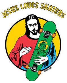 Jesus loves skaters
