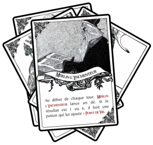 Killer Pendragon Cartes