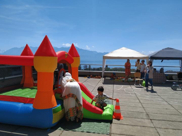 Activités enfants lors d'une journée holygames