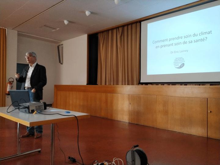 Journée écologie à St-Jacques: Eric Lainey